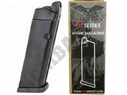 Raven Airsoft Gas Magazine for EU & G Series Glock Replica Gas Blowback Pistols & BB Guns